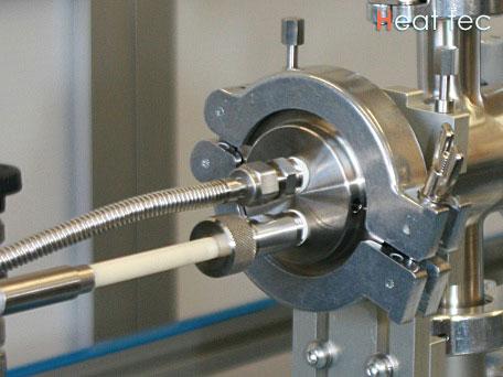 熱電対ポートイメージ 熱電対ポート シース熱電対用 熱電対ポートは炉心管内の温度測定用として..